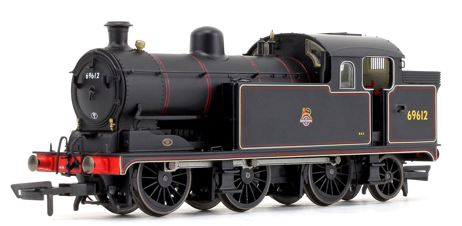 Class N7 BR Black (Early Crest) 0-6-2 Tank Locomotive No.69612