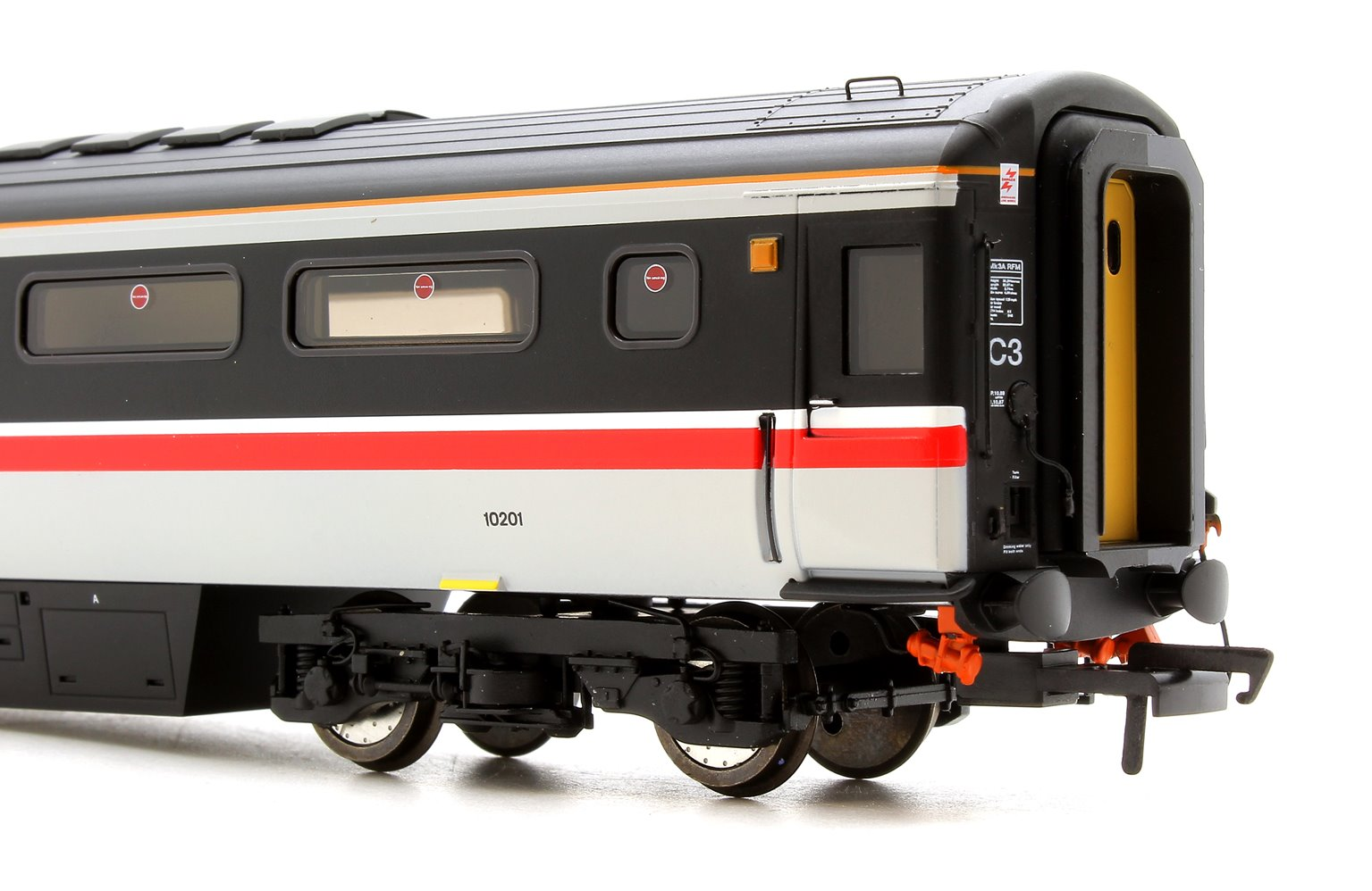 BR Mk3a RFM Coach - Intercity Swallow 10201