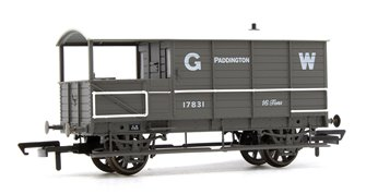 Toad Brake Van GWR 4 Wheel Planked (early) Paddington