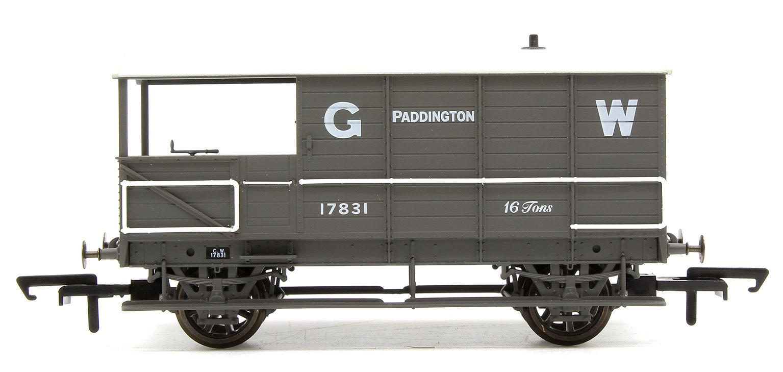 Toad Brake Van GWR 4 Wheel Planked (early) Paddington