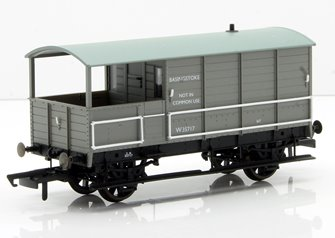 Toad Brake Van BR Toad 4 Wheel Basingstoke 35717