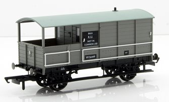 Toad Brake Van BR Toad 4 Wheel Bala 56449