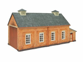 GWR Engine Shed (Pre-Built)