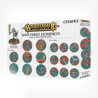 WARHAMMERAOS: SHATTERED DOMINION: 25 & 32MM ROUND