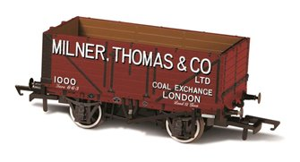 7 Plank Mineral Wagon Milner Thomas and Co London No.1000