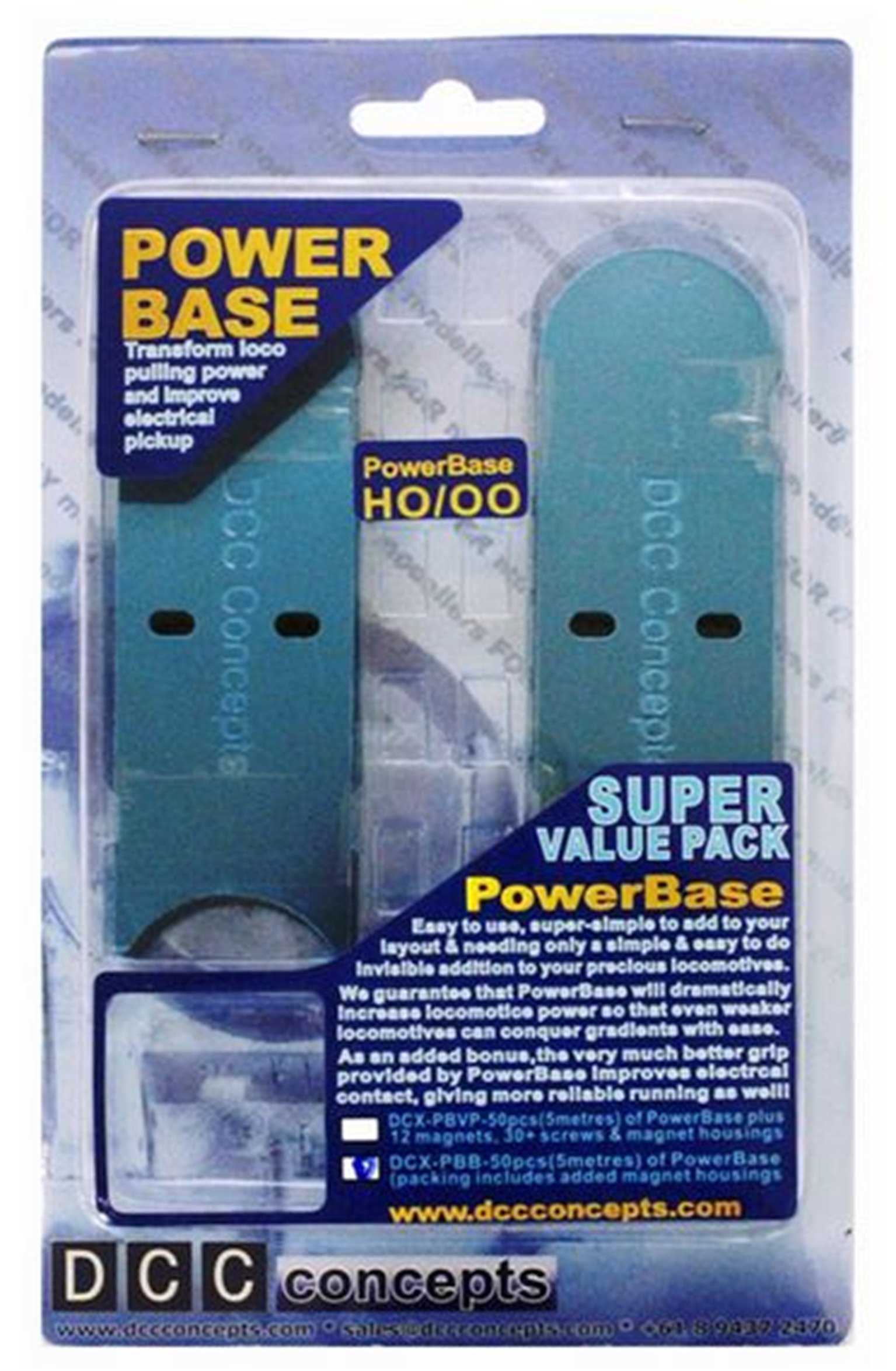 DCC Concepts Powerbase OO Extension Pack (5m)