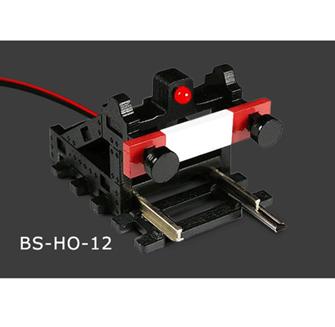 HO/OO Scale Buffer Stop w/Flashing Light (DCC Wireless)