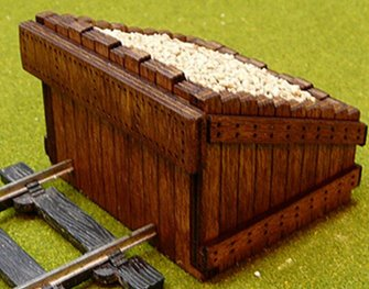 O Scale Scale Authentic Wood Buffer Stop Kit (2 in a pack)