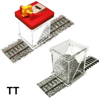Ballast Spreader & Ballast Gluer (Fixer) COMBO for TT Scale