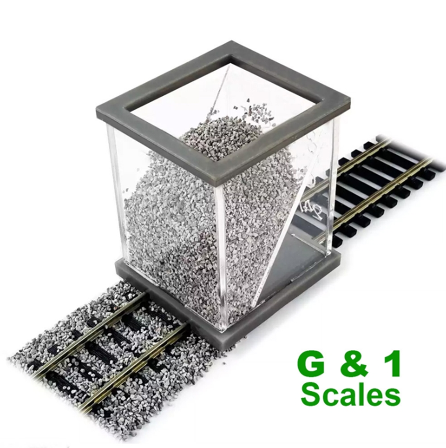 Ballast Spreader for G & 1 Scales (45 mm / 1.772 inch)