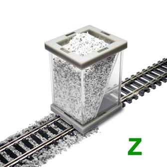 Z Scale Ballast Spreader