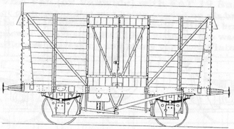 BR 12 Ton Van Plank Sides Kit