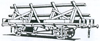 LNER 21 Ton Trestle Wagon Kit