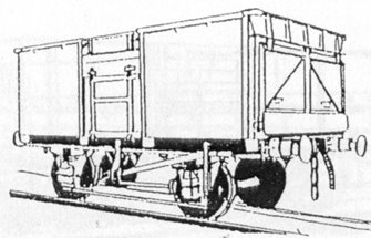 BR 16 Ton Mineral Wagon Vacuum Brake Fitted Kit