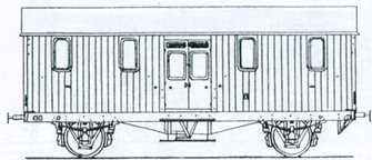 GWR Python Covered Carriage Truck Kit