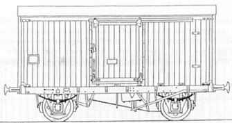 LNER 12' Wheelbase Fish Van Kit