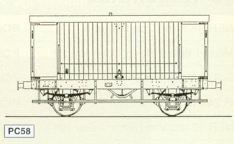 LMS ex MR Design 20 Ton Goods Brake Van (D. 1659) Kit