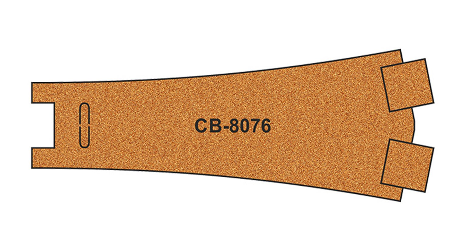10 X Pre-Cut Cork Bed for R8076 Y Point