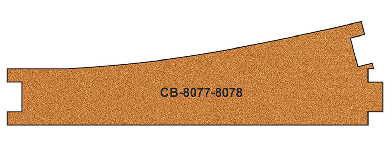 10 X Pre-Cut Cork Bed for R8077-8078 Express Points