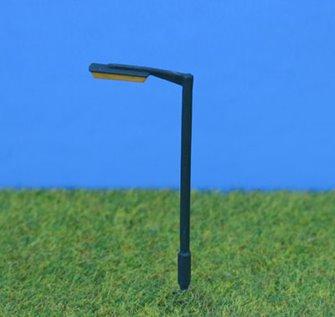 PDC2 P&D Marsh N Gauge Tubular Street Lamps  - UNPAINTED