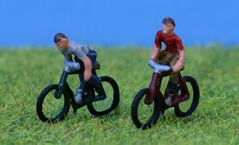PDX51 P&D Marsh N Gauge Cyclists by 2