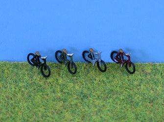 PDX52 P&D Marsh N Gauge Painted Bikes