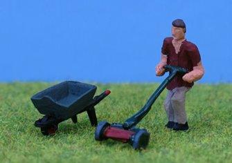 PDZ31 P&D Marsh OO Gauge Gardening Set