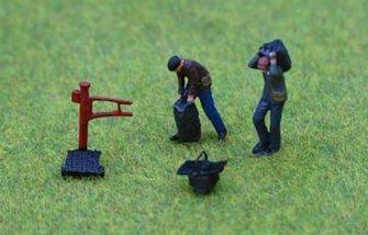 PDZ39 P&D Marsh OO Gauge Coalmen and Scales