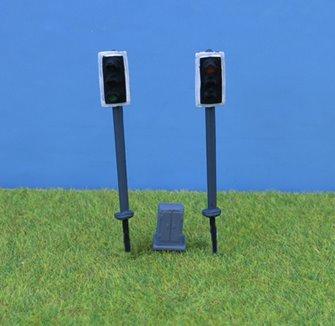 PDZ45 P&D Marsh OO Gauge Modern Traffic Light - Single Head