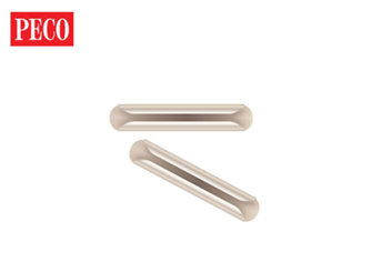 SL710FB Rails Joiners, for flat bottom rail (code 143), nickel silver