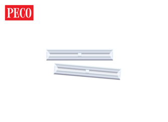 SL711FB Insulated Rails Joiners, for flat bottom rail (code 143), nickel silver