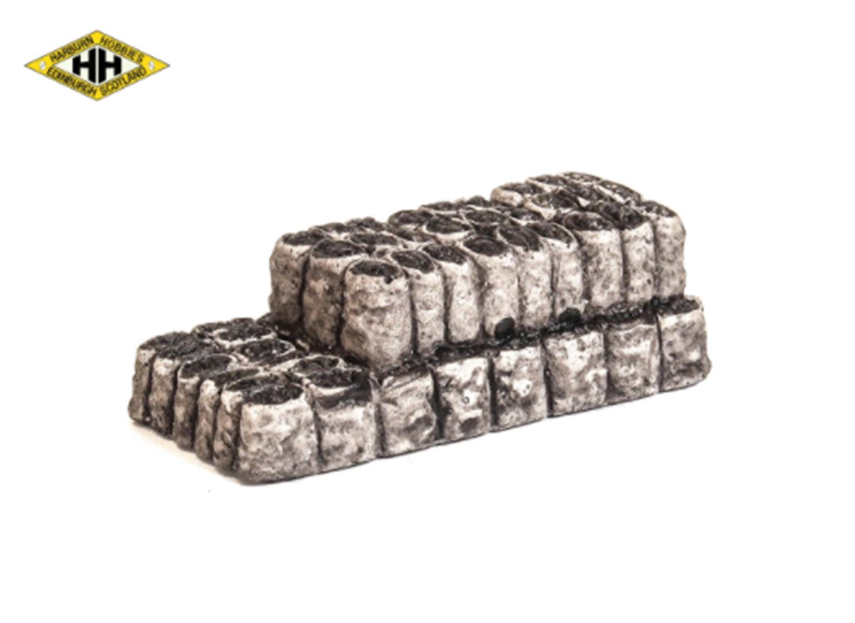 Filled coal sacks load