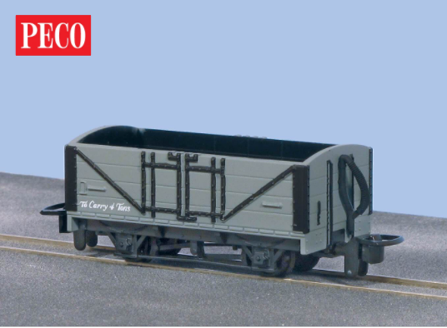 Open Wagon, Grey Unlettered