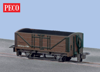 Open Wagon, Brown Unlettered