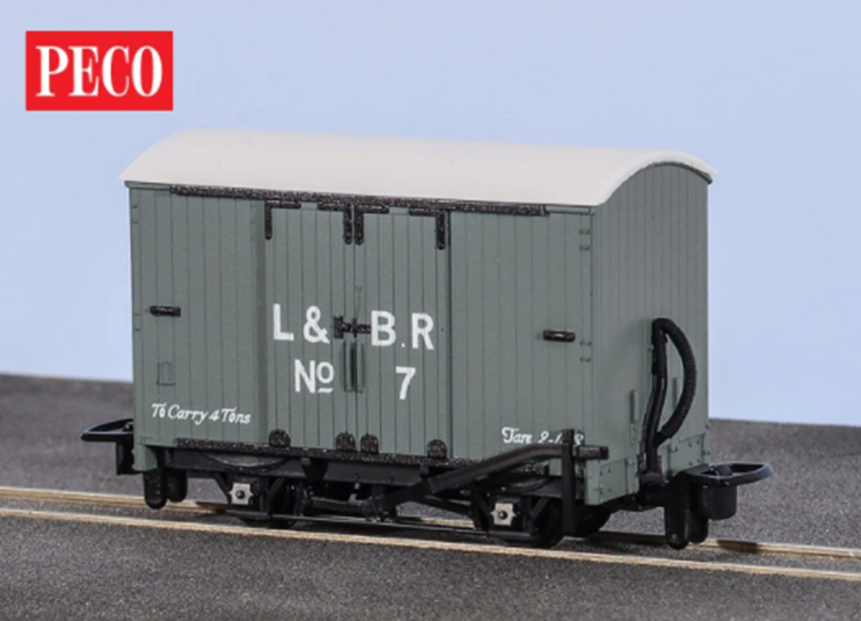 Box Van, L&B Livery No. 7