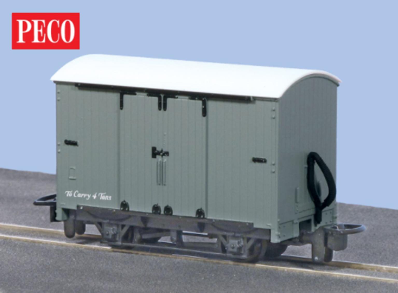 Box Van, Grey Unlettered