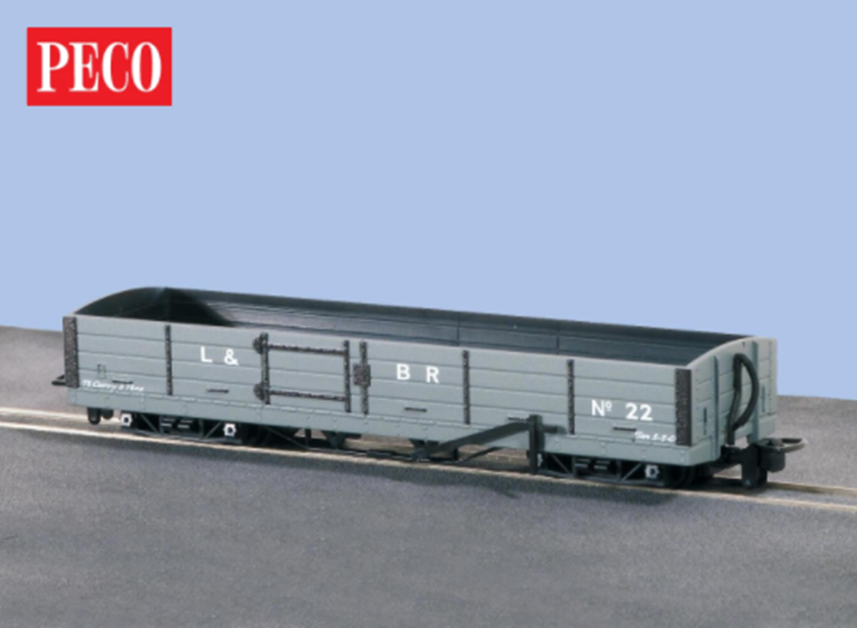 L&B 8 ton Bogie Open Wagon L&B Grey #22