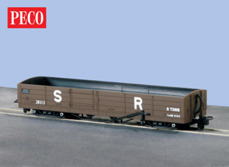 L&B 8 ton Bogie Open Wagon SR Brown #28313