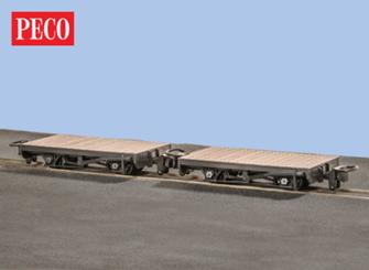4 Wheel Flat Wagons