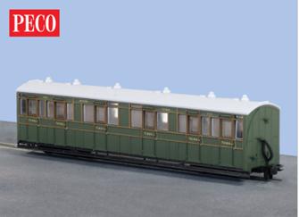 Peco GR-401A L&B Composite coach 1st/3rd Southern Railway