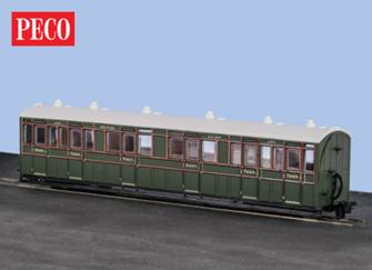 Peco GR-401B Composite Coach SR Livery no.6365