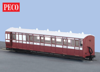 Peco GR-420A Brake Composite Coach in l&B Livery No. 15