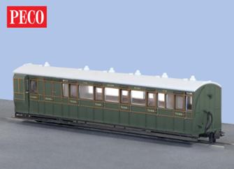 Peco GR-421A L&B Brake Coach 3rd Southern Railway.