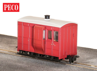 GR-530UR - GVT 4-wheel brake coach - plain red