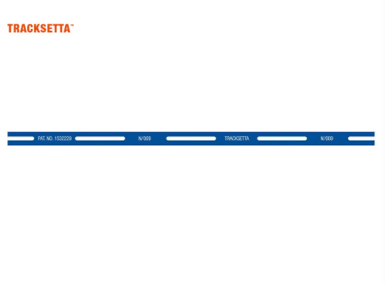 N / OO9 Straight Template, 254mm (10in) long Tracksetta