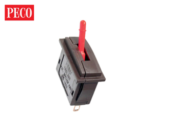 PL26R Passing Contact Switch - Red Lever