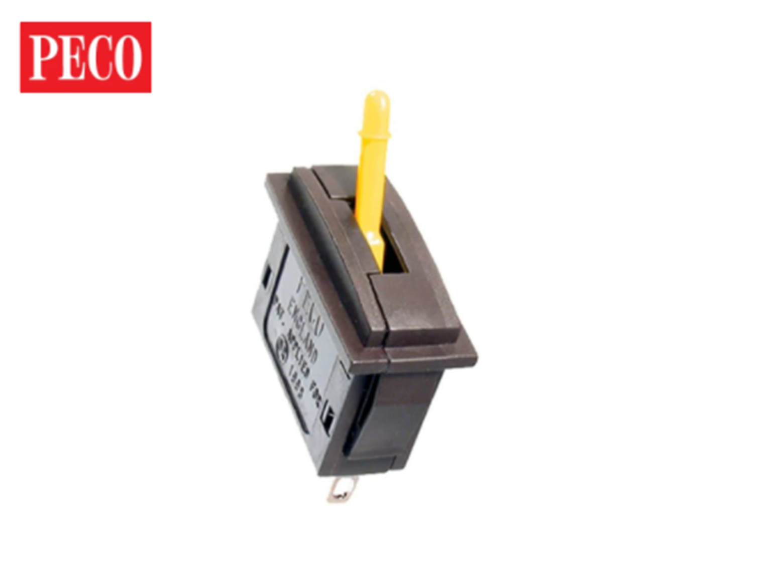 PL26Y Passing Contact Switch - Yellow Lever