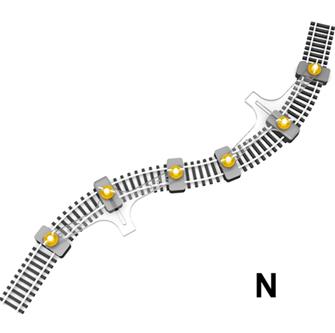 Flexible Track Holder