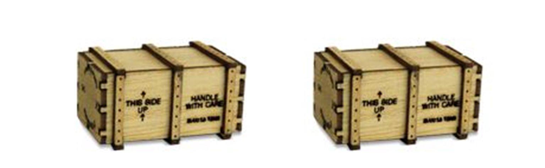 2 X Big Machineary Crates (Kit)