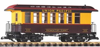 Union Pacific Wood Coach